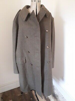 British Army Cavalry/ mounted Great Coat size 4 James Smith & Co Derby