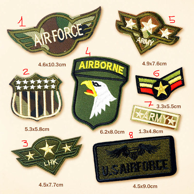 patch toppa Militare Military Esercito Army AirForce AirBorne termoadesiva