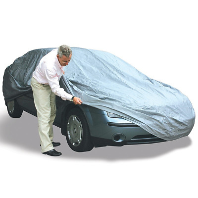 Full Car Cover UV Protection Large Size For Universal Vehicle