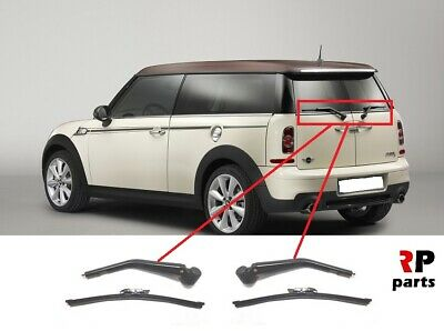 For Mini Clubman Clubvan 2007 - 2015 New Rear Wiper Arm With 292 Mm Blade Pair