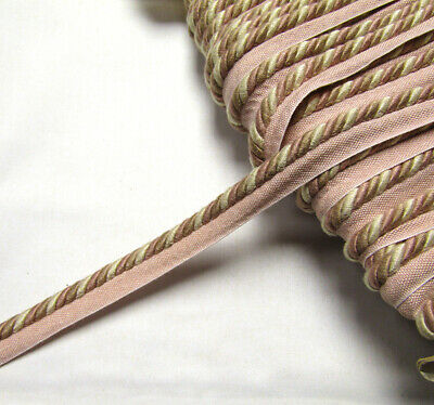 Tri color Upholstery Flanged Piping Cord Rope 8 Trim Cushion Piping Edging Trim