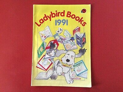 Old Ladybird Books 1991 Catalogue
