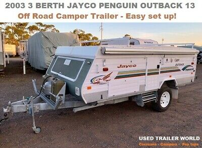 2003 3 Berth Jayco Penguin Outback Off road Camper Trailer- Excellent condition!