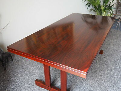 Mid Century Vintage Danish Rosewood Dining Conference Table Skovby UK DELIVERY
