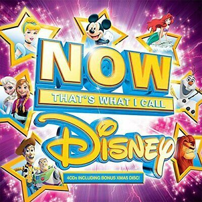 Various Artists-NOW That's What I Call Disney CD Box set, Soundtrack  New