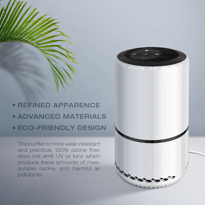 NEW Air Purifier Cleaner Remove Eliminator Smoke Dust Ionic Ionizer Fresh Room