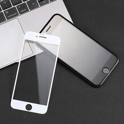 For iPhone 6 7 8 Plus X Xs Max XR Full Coverage Tempered Glass Screen Protector