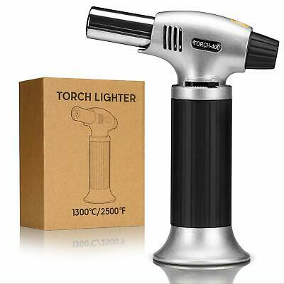 GiBot Blow Torch Lighter Kitchen Butane Culinary Torch