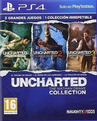 Uncharted The Nathan Drake Collection Ps4 Sec.