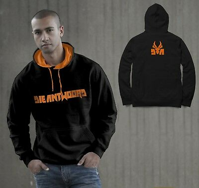 Die Antwoord Logo Rap ,Rave ZEF Aphex  Front ,Back Side Printed Men Hooded