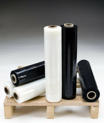 Quality Pallet Stretch-Shrink Wrap 400mm Rolls [ All QTY & Colors ]