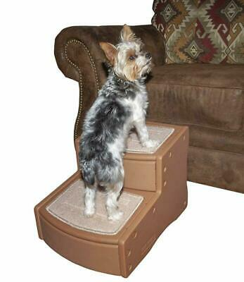 Easy Step Ii Pet Stairs 2 For Cats Dogs Up To 75 Pounds Portable Removable New