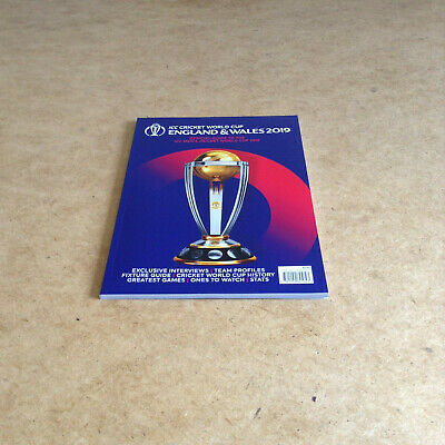 Icc Cricket World Cup England & Wales 2019 Official Guide Mens Cricket World Cup