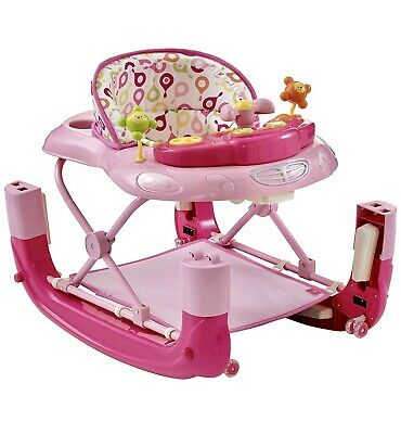 My Child Walk-n-rock 2 in 1 Baby Walker Neutral 6 Months Multi Height Adjust