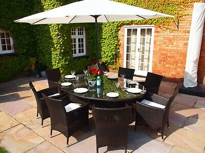 3M Light Grey Parasol Parasol & Cover WITH 12KG BASE  RRP £125. Best value in UK