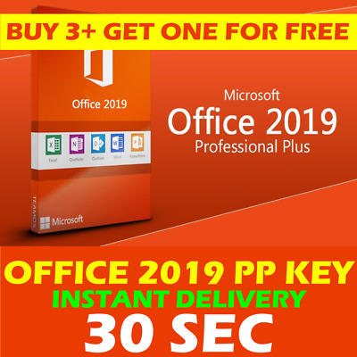 ✅ INSTANT Microsoft Office 2019 Professional Plus ✅ NEW Lifetime Activation Key