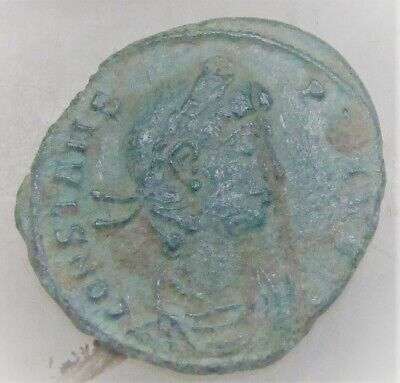 Ancient Roman Bronze Coin To Identify Very Fine State