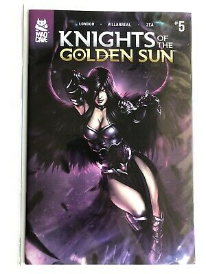 Knights Of The Golden Sun #5 Cover A 1st Print Mad Cave Comics 2019 Sold Out NM