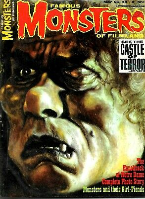 Famous Monsters Of Filmland #33 Fine Condition