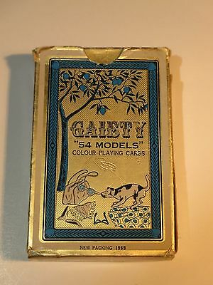"""Gaiety """"54 Models"""" Colour Playing Cards No. 202 1969"""