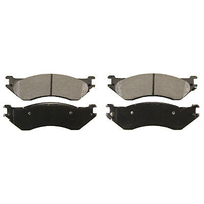 Front Semi Metallic Brake Pad Set RIKA D702 for FORD and Lincoln