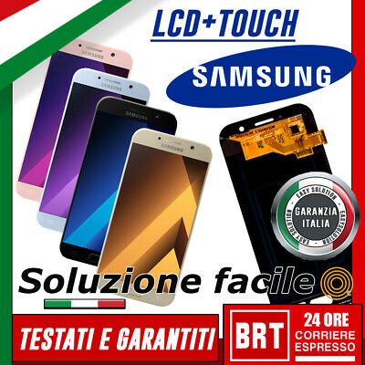 LCD +Touch Screen Samsung Galaxy A5 2017 A520F SM-A520F display Schermo Vetro
