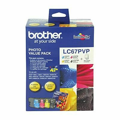 Brother LC67 Photo Value Pack