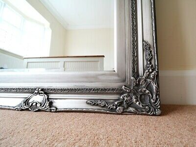 Large Antique Vintage Style Mirror For Salon Spa Or Bedroom 6x3ft - 180x90cm