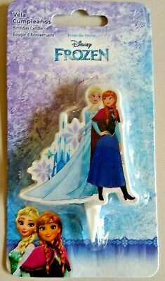Frozen Elsa And Anna Birthday Candle