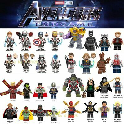 legoings Avengers Captain Marvel Endgame Thanos War Machine Guardians of Galaxy