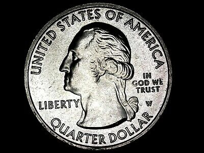 2019 W National Park Quarter  Lowell, MA   West Point Mint. HIGH DETAIL PICTURES