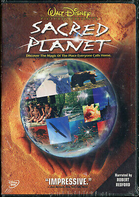 SACRED PLANET (2005 Walt Disney DVD) Narrated by Robert Redford
