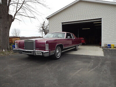 1977 Lincoln Continental Town Coupe Lincoln Town coupe 37k Actual Miles, # Matching Drivetrain, 400 V8, Automatic