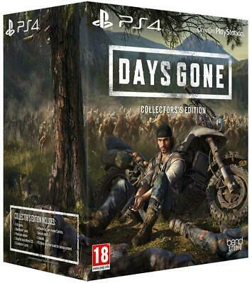 Days Gone: Collector's Edition - Playstation 4 Exclusive - Brand new Pre-order