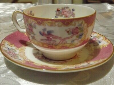 Minton Pink Cockatrice 5pc setting Beautiful Luncheon Place Setting