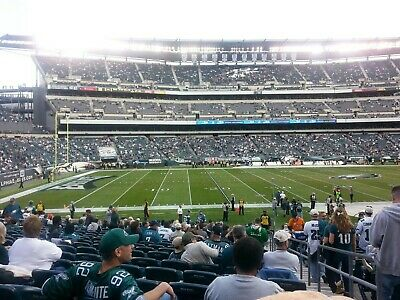 2 Philadelphia Eagles Tickets vs Tennessee Titans 8/8/19 Section 136 Row 23 Pair