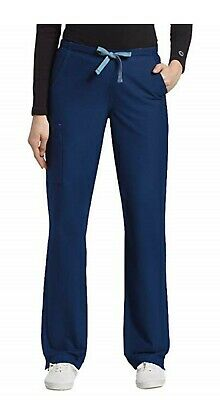 fe61da1a99c Allure by White Cross Women's Drawstring Cargo Scrub Pant X-Small Petite  Navy
