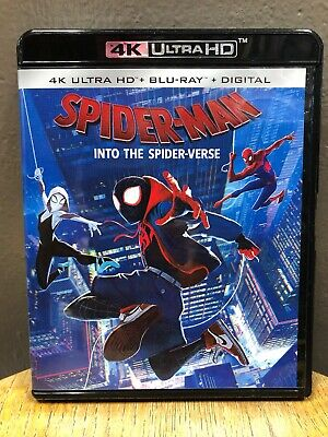 Spider-Man Into The Spider-Verse (4K Ultra HD + Blu Ray, 2019)