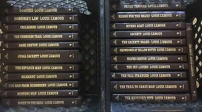 Louis L'Amour Leatherette Books-PICK THE TITLES YOU WANT- $9.99 Each & Free Ship