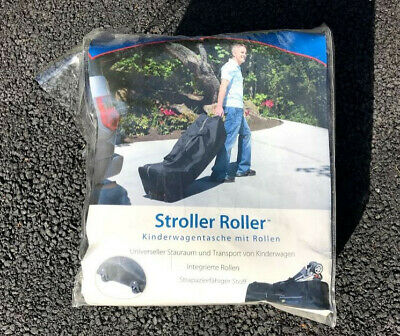 Stroller travel bag / holiday bag with rollers