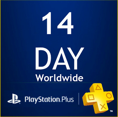Playstation Plus - 14 Day Trial - PS4 - PS3 - PS VITA
