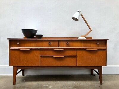 Vintage 60s Jentique Teak Sideboard. Danish Retro . G Plan DELIVERY AVAILABLE