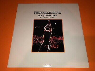 Freddie Mercury QUEEN Rare Vinyl Record Living On My Own Extended Version TA6555