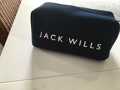 BNWOT Jack Wills Mens Toiltries Bag Travel Kit with Toiletries included,