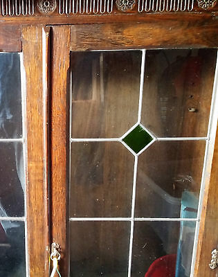 1900s to 1930s Glass Fronted Display Cabinet - completely original with history