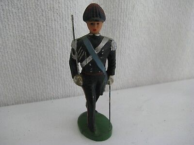 toy soldier- Italian- composition- lineol