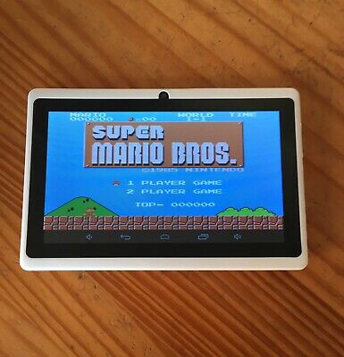 Portable retro arcade machine Android tablet  +16gb Sd Card / Thousands Of Games
