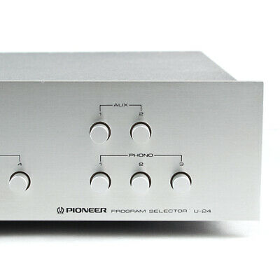 PIONEER U-24 Program Selector SERIES 20 spec sx power amp turntable input switch