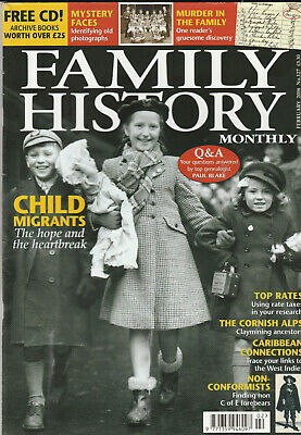 FAMILY HISTORY MONTHLY Magazine February 2006 - Child Migrants