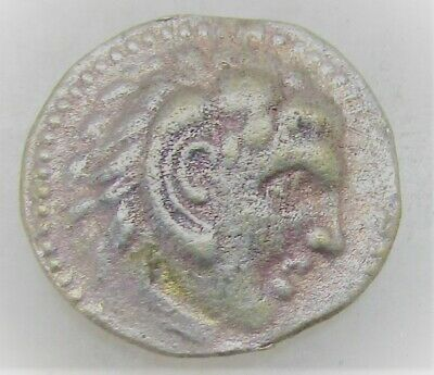Ancient Greek Silver Coin To Identify